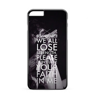Sleeping With Sirens Song iPhone 6 Plus Case