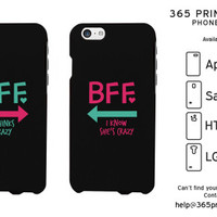 Mint Pink Arrow Best Friend Matching Phone Cases - 365 Printing Inc