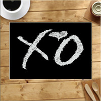 The Weeknds Xo Placemats