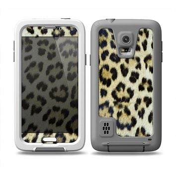 The Real Leopard Hide V3 Skin Samsung Galaxy S5 frē LifeProof Case