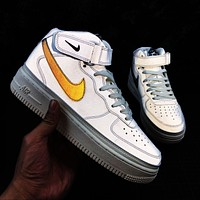 Nike Air Force 1 '07 Mid Mid Air Casual Chameleon 3M Reflective