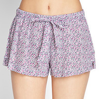 Spotted Floral PJ Shorts