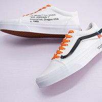 Virgil Abloh Off-White x Vans Old Skool Sneaker Shoe