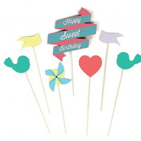 Sweet Cake Toppers | Birthday Cake Decorations