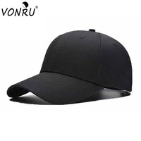 Brand New Summer Baseball Caps Adjustable Snapback Casquette Dome Solid Color Cotton Hats for Men Women 1MZ0710