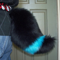 Umbreon-Inspired Cosplay Tail