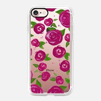 Lovely Roses - Bold Fuchsia iPhone Case iPhone 7 Case by Stephanie Denne | Casetify