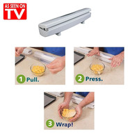 Wraptastic As Seen On TV Plastic Food Wrap Dispensers For Foil & Plastic Wrap