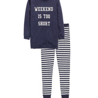 Pajama Set with Sweatshirt - from H&M