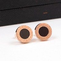8DESS BVLGARI Women Fashion Stud Earring Jewelry