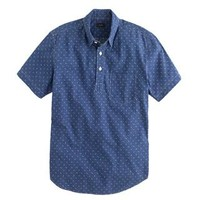 Short-sleeve popover in arrow print - Patterned & Printed Shirts - Men's shirts - J.Crew