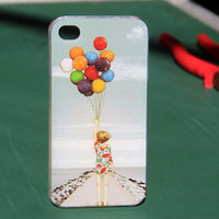 Beach Holiday Ballon Case for iPhone4/4S