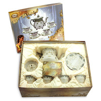 Disney Store Beauty & the Beast Live Action Film Limited Tea Set New with Box
