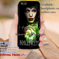 Witch Maleficent Disney iPhone 6s 6 6s+ 5c 5s Cases Samsung Galaxy s5 s6 Edge+ NOTE 5 4 3 #movie #maleficent dl12
