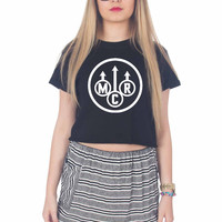 My Chemical Romance For Womens Crop Shirt **