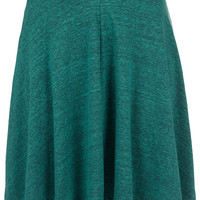 Green Speckle Skater Skirt - New In This Week - New In - Topshop