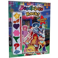 """""""doodlebops"""" - coloring book with paint set Case of 36"""
