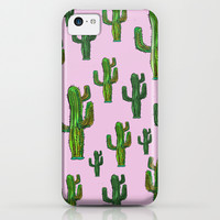 CACTUS DANCE iPhone & iPod Case by Vasare Nar
