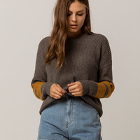WOVEN HEART Boyfriend Womens Sweater