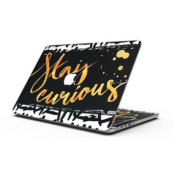Lux Stay Curious - MacBook Pro with Retina Display Full-Coverage Skin Kit