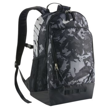 Nike Team Max Air Graphic (Large) Training Backpack (Grey)