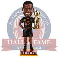 Cleveland Cavaliers 2016 NBA Champions Bobbleheads