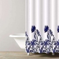 Luxe Hotel 100% Cotton Shower Curtains