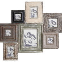 One Kings Lane - Cottage Charm - 7-Photo Collage Frame