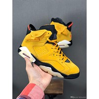 Online Men Basketball Shoes J6 Retro Black Infrared 6 men designer sneakers 6s designer fashion luxury 2019 brand mens shoes size 13-7