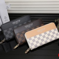 LV Women Man Leather Purse Wallet H-MYJSY-BB