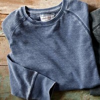 Saturday Special Waffle Tee-Carbon 2 Cobalt