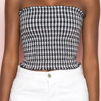 Cleo Tube Top - Tops - Clothing