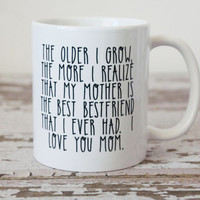 Mother Is The Best Bestfriend Mug | Mothers Day Gift | Gift For Mom | Mothers Day Mug | Mothers Day Ideas | Personalized Mothers Day Gift
