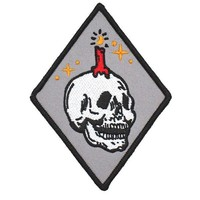 Knowledge Candle Skull Patch