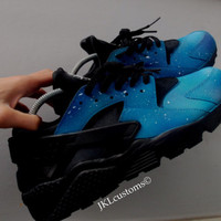 Blue Night Skies Nike air Huarache.