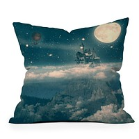 Belle13 The Way Home Throw Pillow