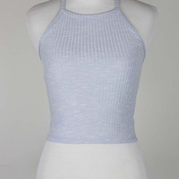 Kayla Ribbed Crop Top