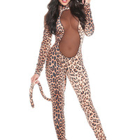 Long Sleeve Cat Costumes Set