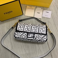 Fendi Fashion Women Shopping Bag Leather Handbag Shoulder Bag Satchel Crossbody