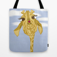 Sherbet And Her Visitor Tote Bag by One Artsy Momma   Society6