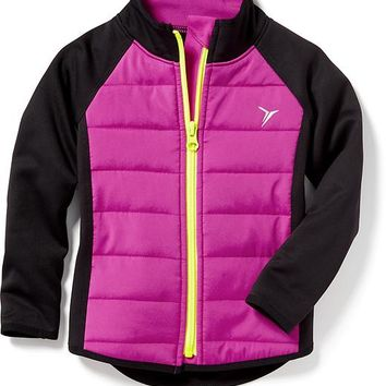 Old Navy Quilted Full Zip Jacket