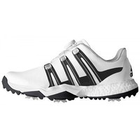 Licensed Golf New Adidas Powerband BOA Boost Mens  Shoes - White/Black - Pick Size