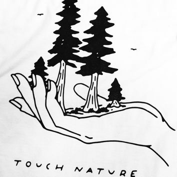 Touch Nature Unisex T-shirt White