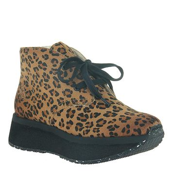 OTBT - WANDER in LEOPARD PRINT Cold Weather Boots