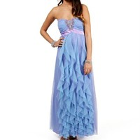 Vivy-Lilac/Turquoise Prom Dress