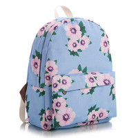 Lovely Korean Cute Canvas Backpack = 4888035652