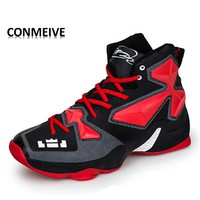2018 New Basket Homme Wavy Grip Wear Lebron Breathable Outdoor Sport Athletic Galaxy Men Women Basketball Sneakers Shoes Trampki