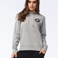 Volcom Droppin In Womens Hoodie Heather  In Sizes