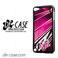 Fox Pink Motocross For Ipod 5 Case Phone Case Gift Present