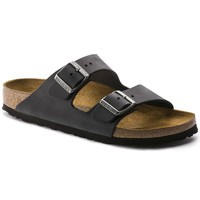 Birkenstock Arizona Oiled Leather Black 0552111/0552113 Sandals - Best Deal Online